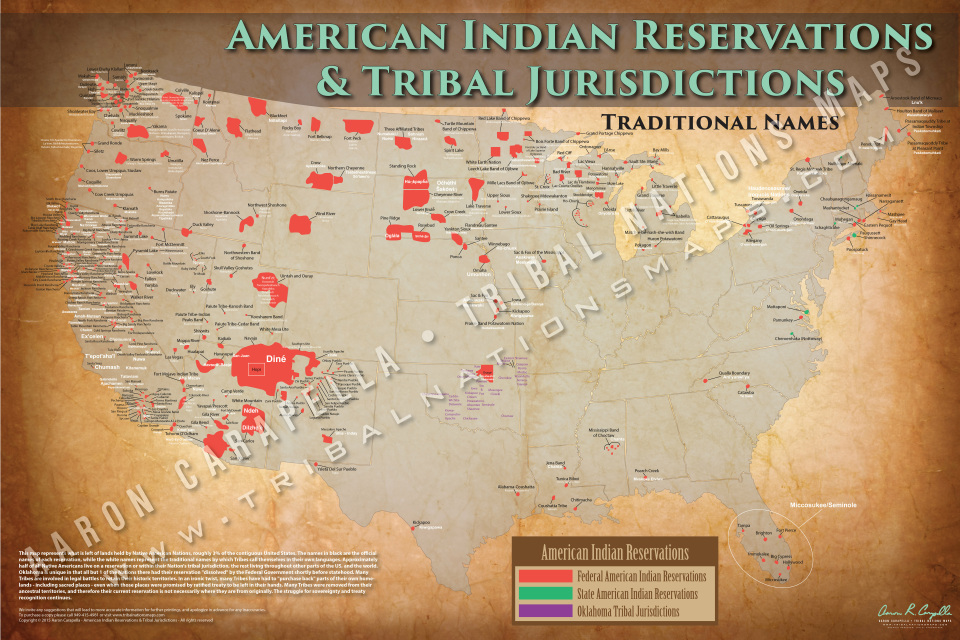 American Indian Reservations