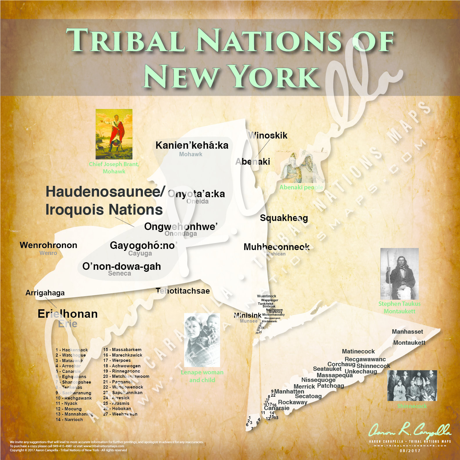 Tribal Nations of New York State - 22\