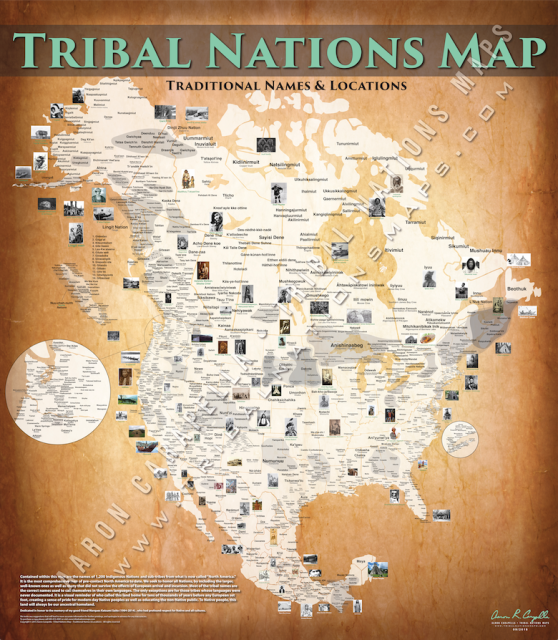 Tribal Nations Map Featured Products